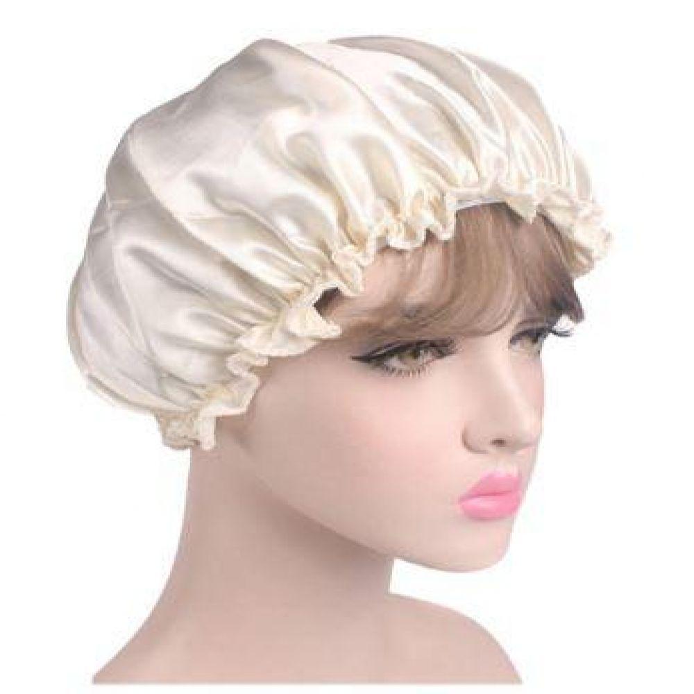 헤어캡 샤워캡 목욕 방수 샴푸 팩 찜질방 스파백 염색 헤어 캡 머리카락 수면 헤어캡 머리 보호