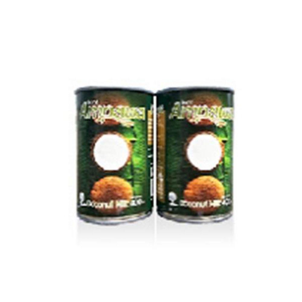 코코넛 밀크 400ml 건강 견과 초코릿 코코아 코코넛