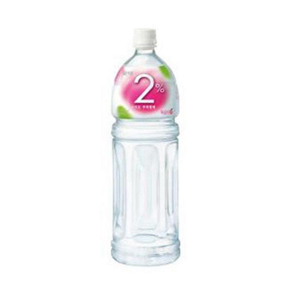 칠성) 2프로 복숭아 1.5리터 x 12페트 믿을 수 있는 정품 정량 음료 음료수 음료수도매 이온음료 스포츠음료