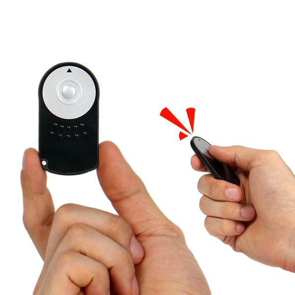마운트레이션 캐논 RC-6 호환 무선리모컨 (배터리포함) 캐논리모컨 캐논리모콘 셀카리모콘 셀카봉 셀카리모컨