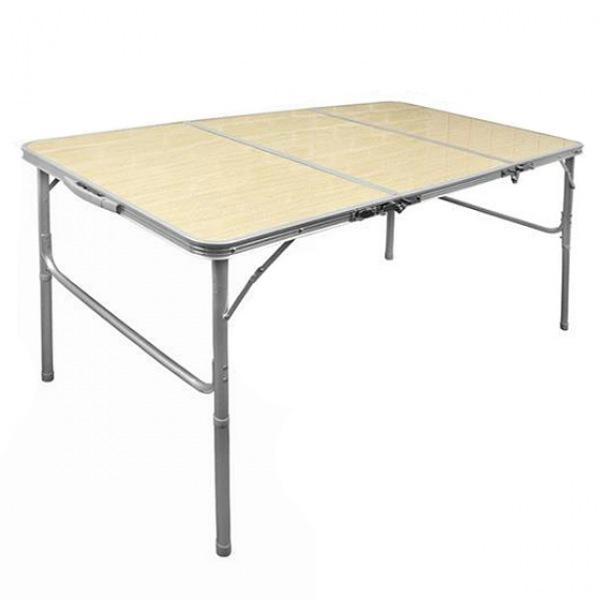 몽동닷컴 3단폴딩테이블 우드컬러 가방포함 테이블 접이식테이블 캠핑테이블 야외테이블 휴대용테이블
