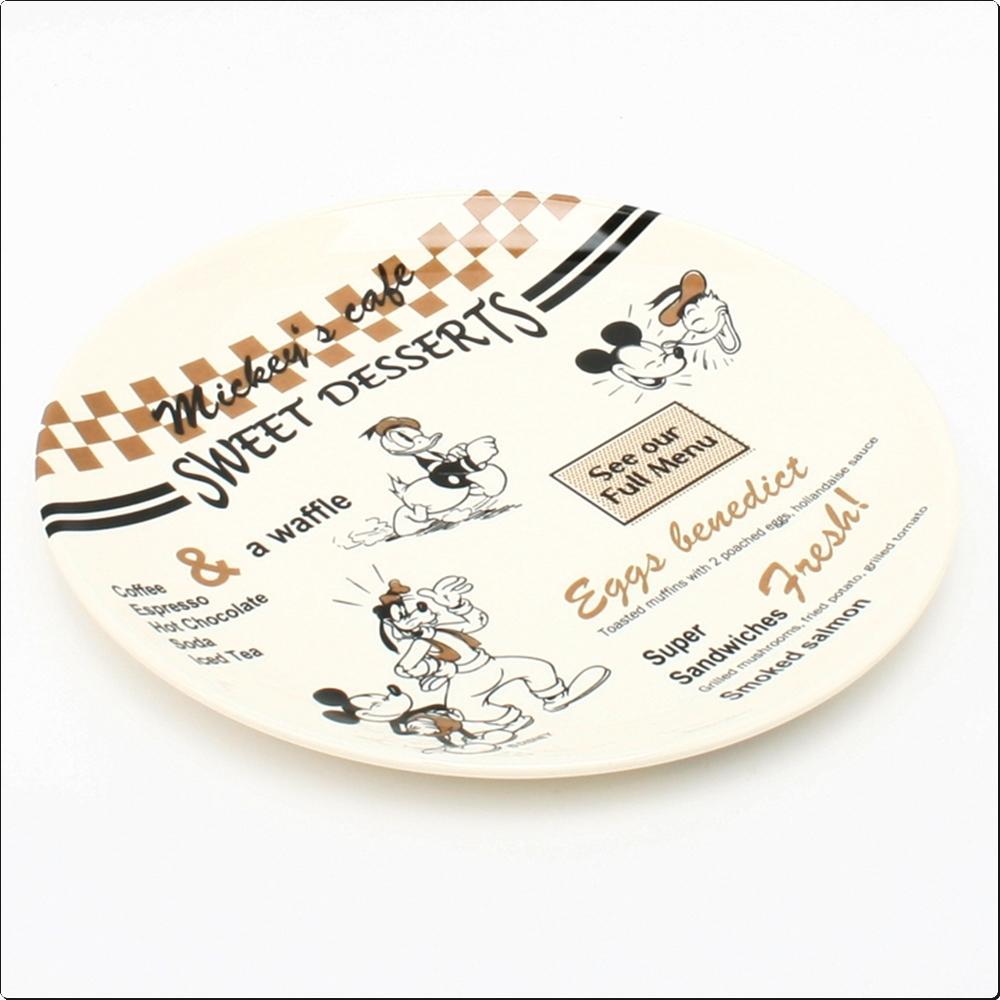 미키마우스 카페 멜라민 원형접시19cm(일)(277443) 캐릭터 캐릭터상품 생활잡화 잡화 유아용품