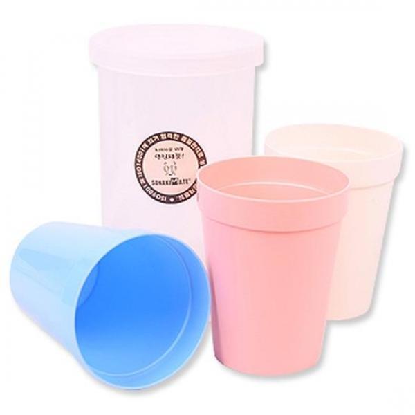 (set)캠핑볼 (중) 3P 8개 야외용컵 캠핑용컵 피크닉컵 도시락 물컵