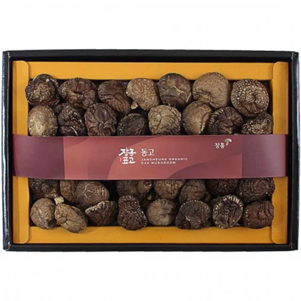 동고300g세트 쇼핑백포장 식품 농산물 채소 표고버섯 선물세트