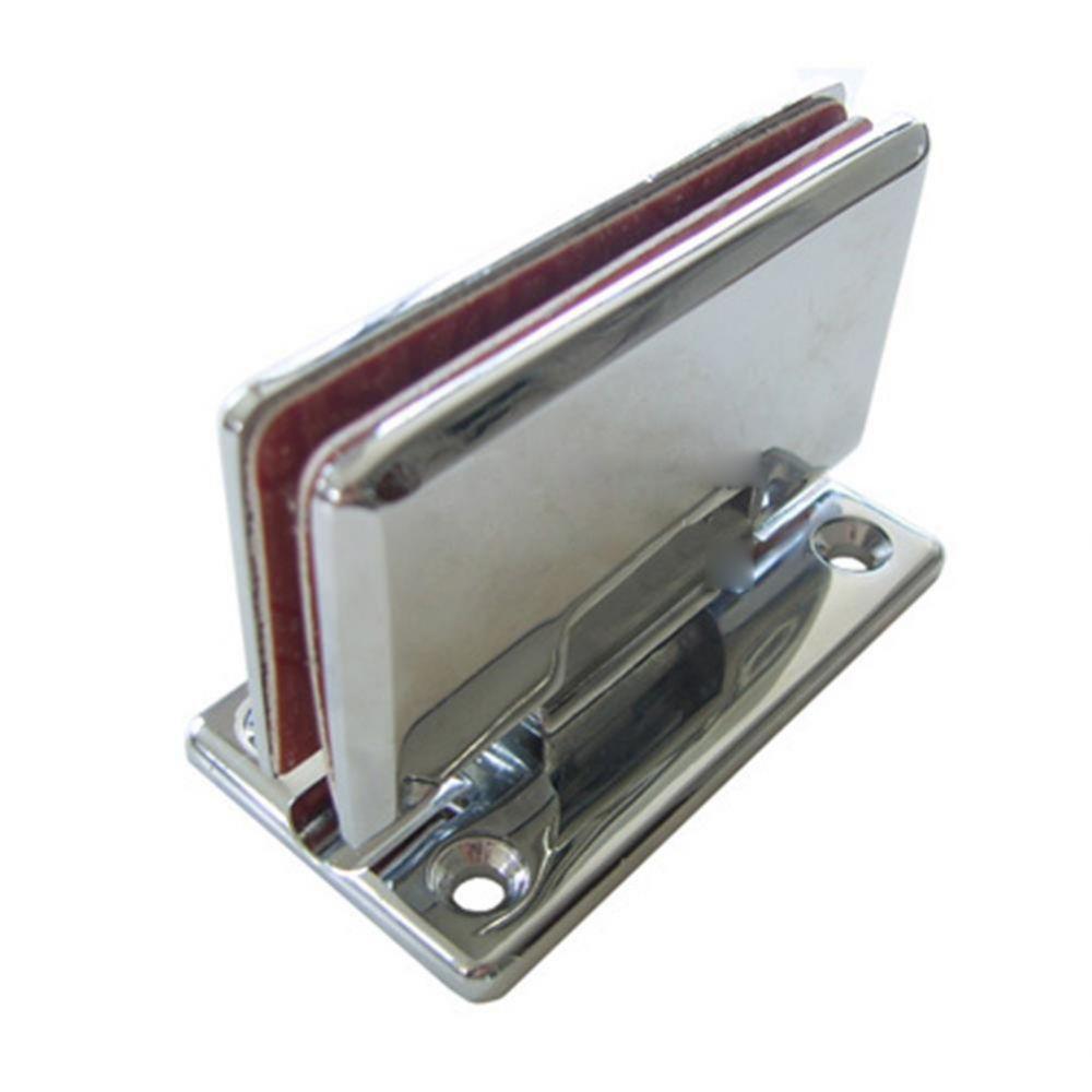 UP)유리문경첩(아연)-T자(8mm용) 생활용품 철물 철물잡화 철물용품 생활잡화