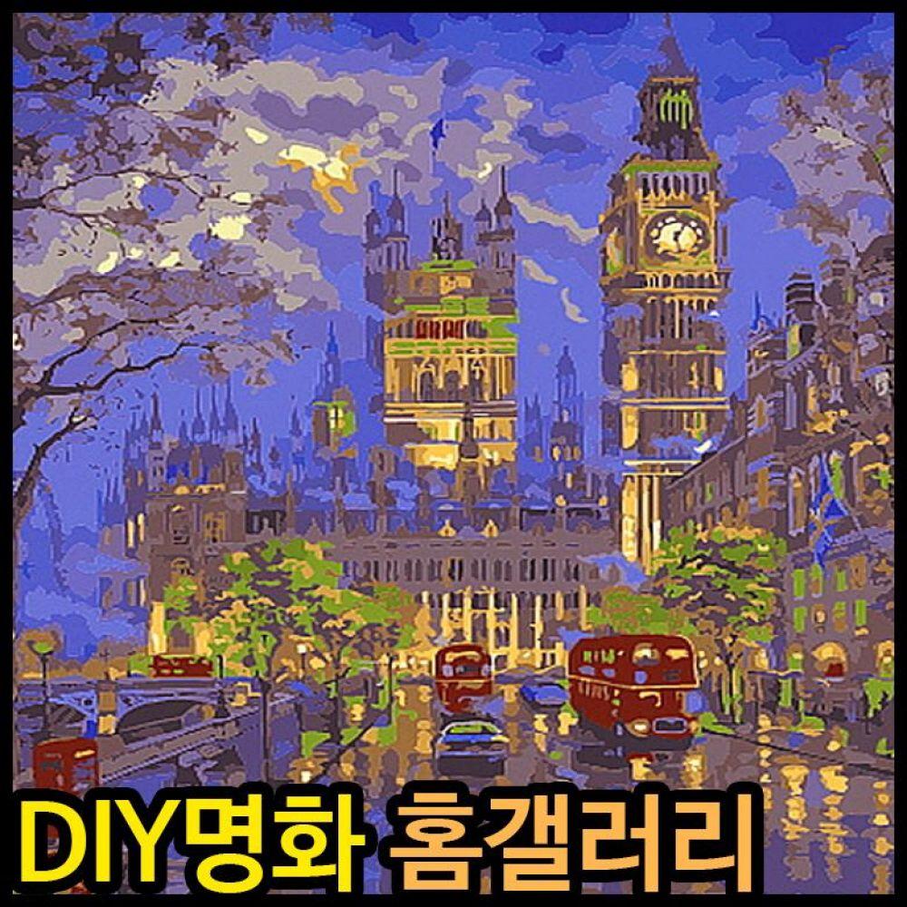 35000 피포페인팅 B681 런던의거리풍경 DIY명화그리기 피포페인팅 그림액자 액자 명화 홈갤러리 diy명화 명화그리기 diy명화그리기 diy페인팅 런던