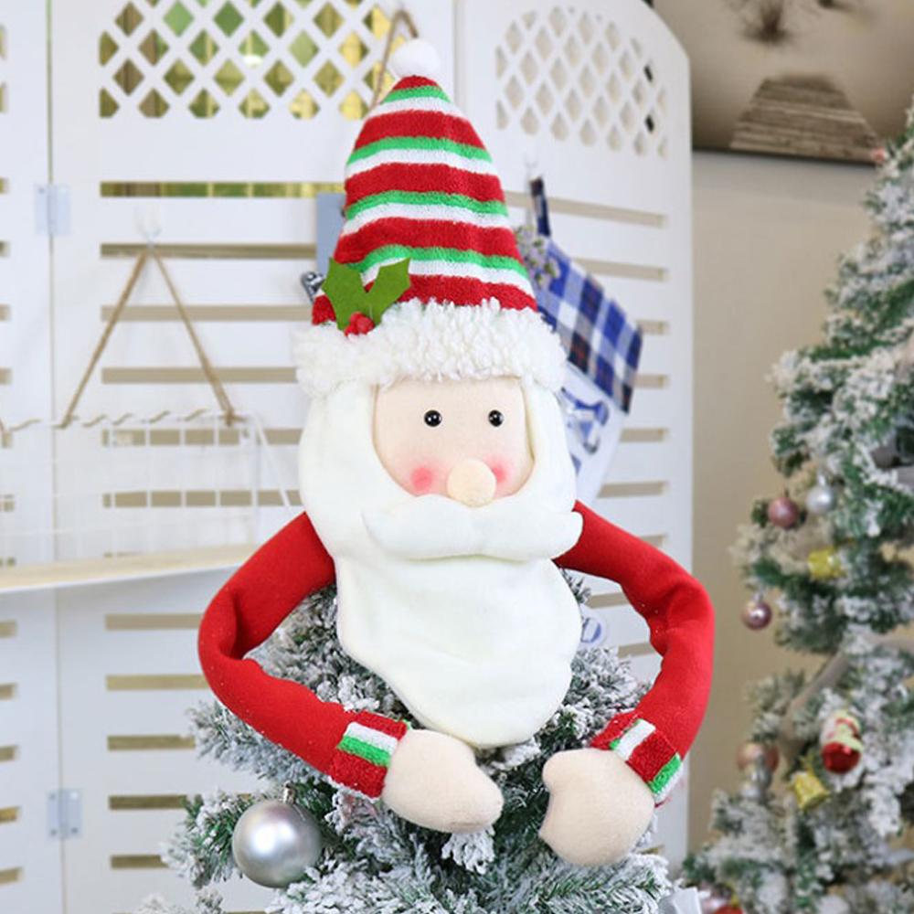 MWSHOP 크리스마스 트리 탑장식 산타 크리스마스트리소품 엠더블유샵