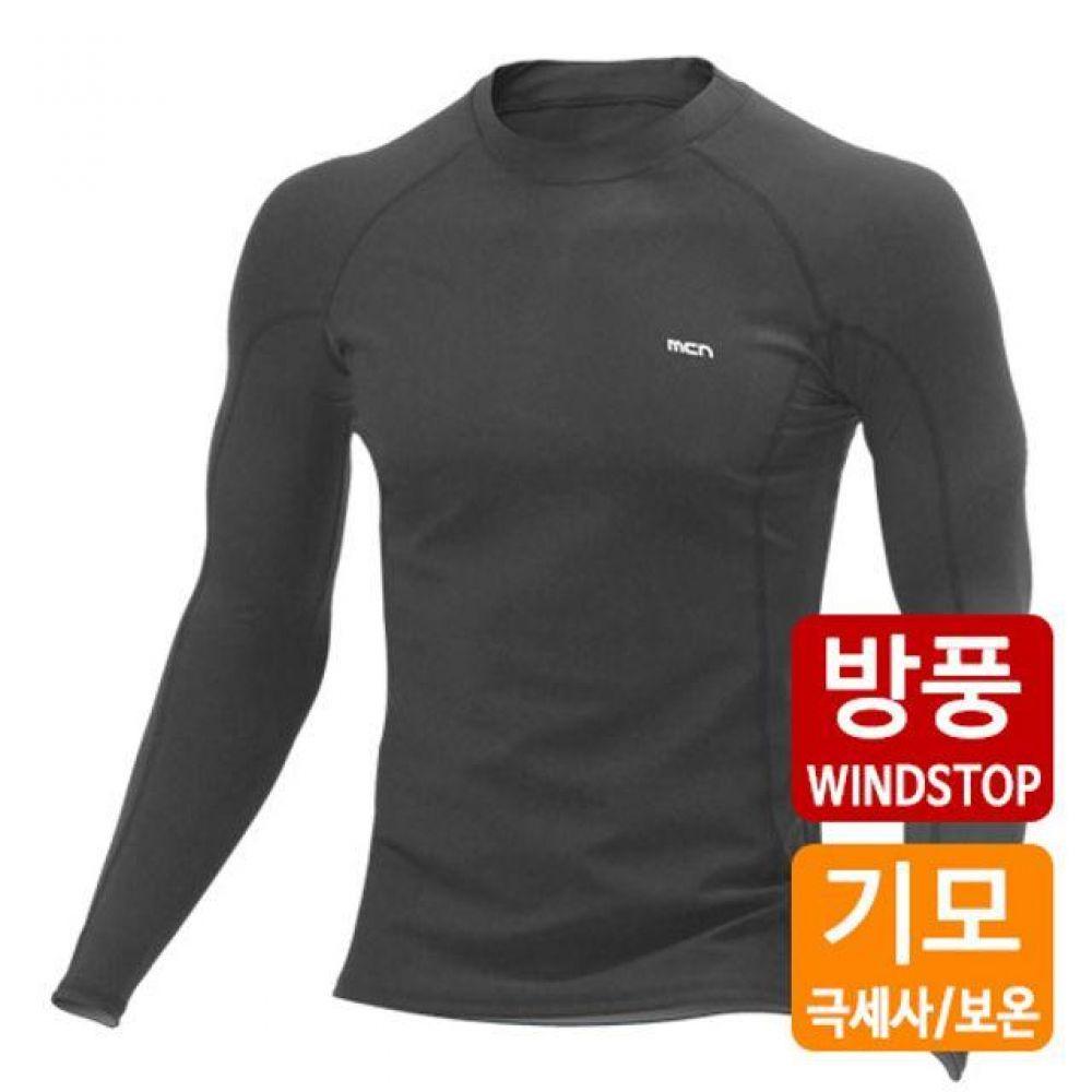 스포츠 이너웨어 상의 긴팔 기모 보온 방풍(블랙) 기능성속옷 스포츠이너웨어 기능성민소매 남성언더레이어 여성이너웨어 기능성티셔츠 골프이너웨어