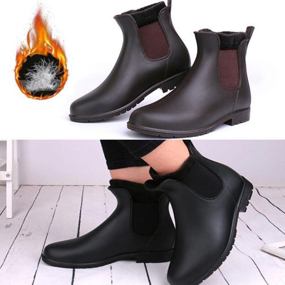 방한부츠 첼시 털신발 융털 기모 남여공용 TAIN03 털부츠 첼시 방한화 방한부츠 양털신발