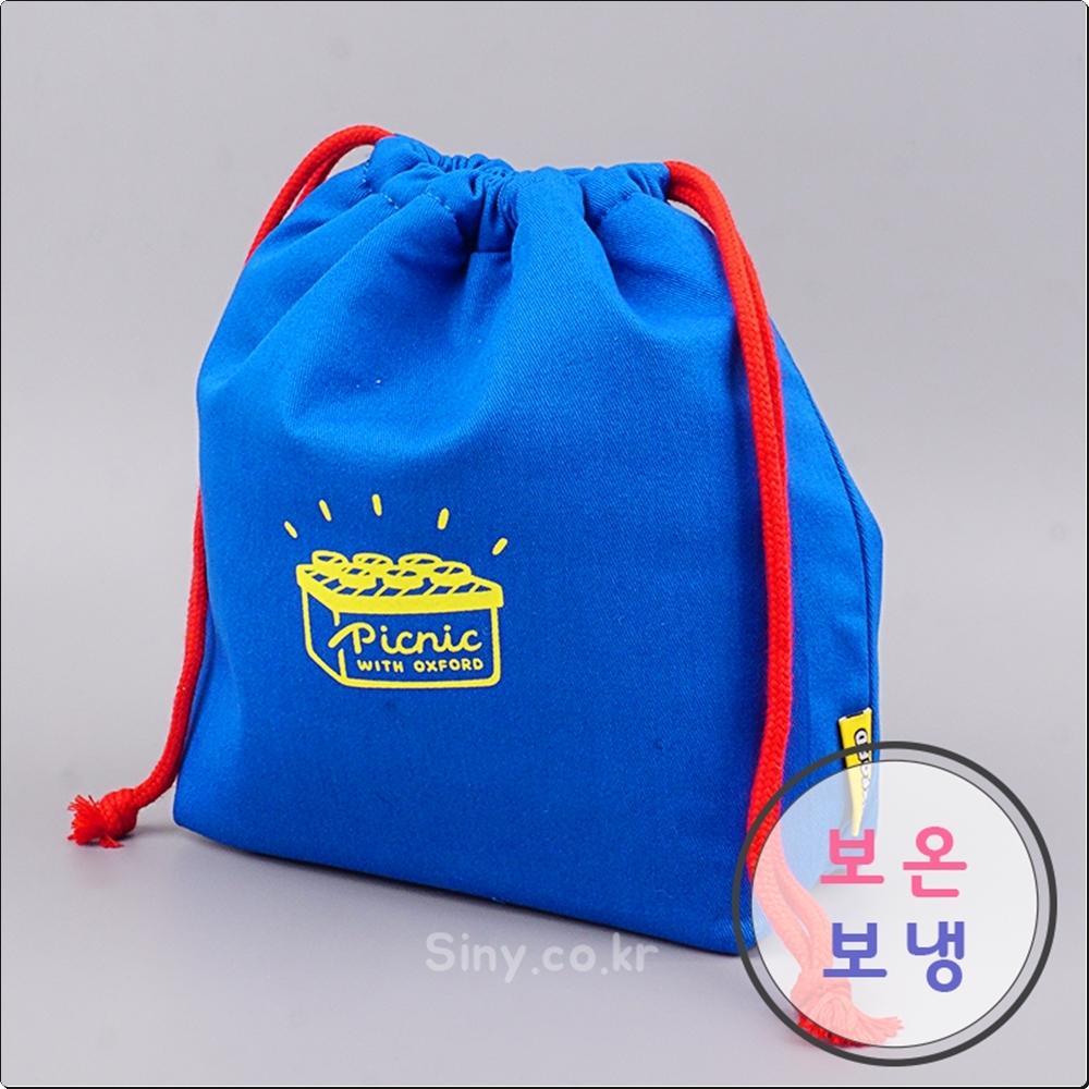 옥스포드 런치박스 보온보냉 파우치(블루)(201388) 캐릭터 캐릭터상품 생활잡화 잡화 유아용품