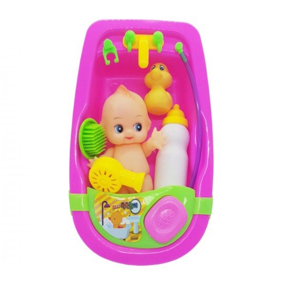 아기 목욕놀이세트 장난감 역할놀이 해피목욕놀이 버블건 비누방울 비누방울건 버블장난감 버블자동차
