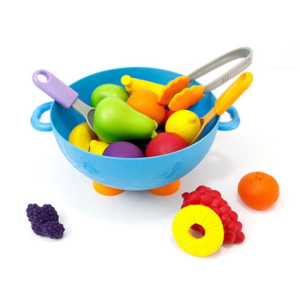 선물 아이 유아 놀이 완구 말랑 과일 바구니 장난감 유아원 장난감 2살장난감 3살장난감 4살장난감
