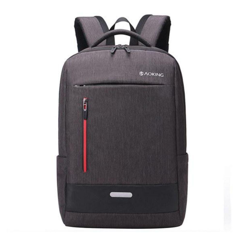 KJ_FKK012 레드라인 지퍼 멀티 백팩 데일리가방 캐주얼백팩 디자인백팩 예쁜가방 심플한가방