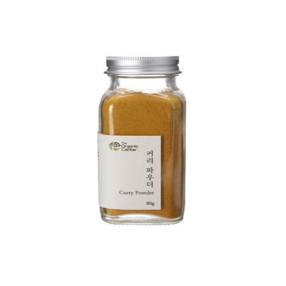 (오가닉 향신료)인도산 커리 파우더 믹스 80g 건강 고기 조미료 냄새 카레
