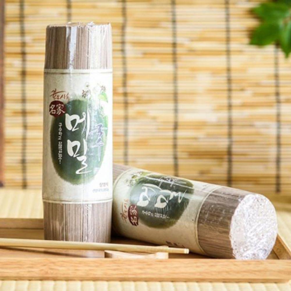 메밀국수 700g x 2 담백한 맛의 웰빙 먹거리 식품 가공식품 면류 국수 메밀