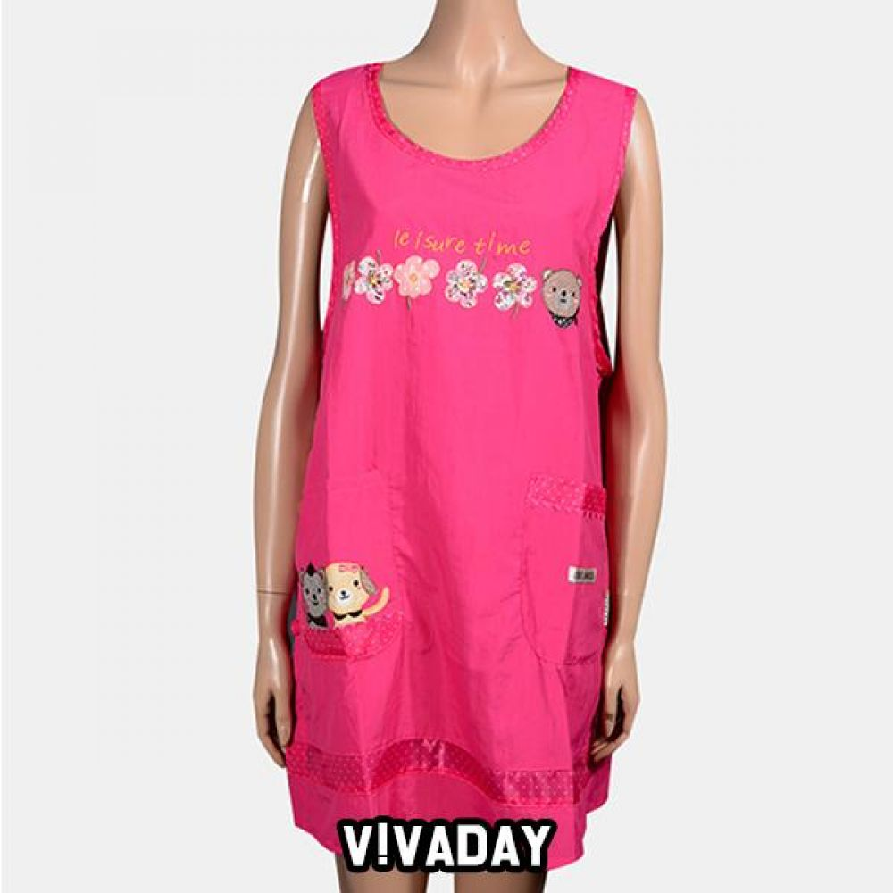 VIVADAY-SC342 화려한색상 캐릭터 앞치마 앞치마 주방 주방용품 주방앞치마 여성앞치마 여자앞치마 요리 저녁