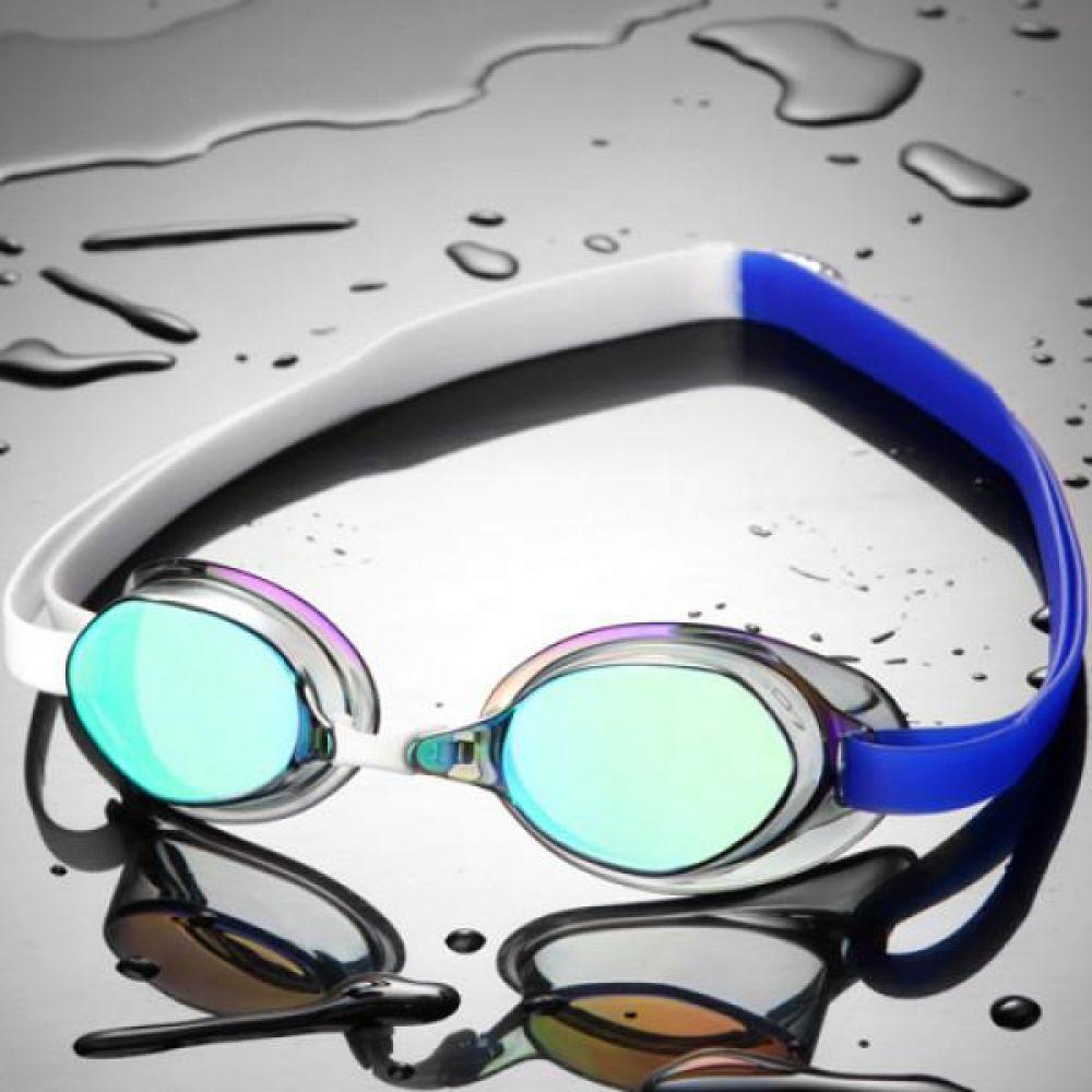SGL-8200-BLWHBL SD7 선수용 노패킹 컬러믹스 수경 수영용품 물안경 남자수경 여자수경 성인물안경