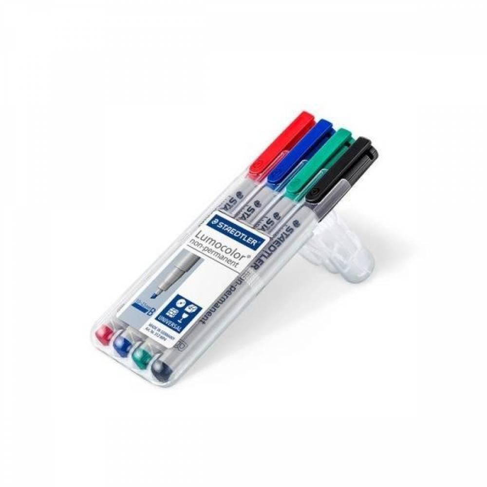 MWSHOP 스테들러 루모칼라 312WP4 다용도 수성펜세트 문구/펜/드로잉 엠더블유샵