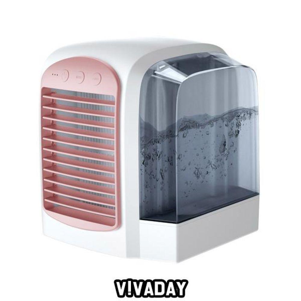 MY LED탁상냉풍기 핑크
