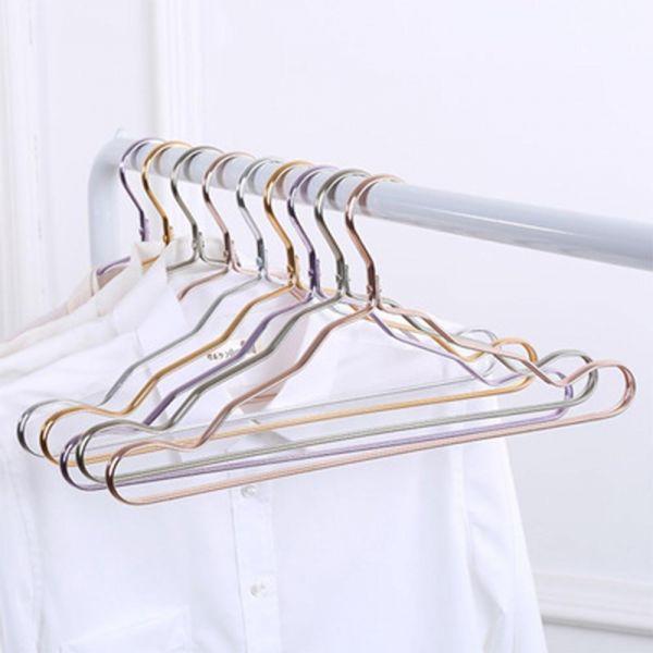 MWSHOP 논슬립 니트 세탁소 옷가게 스페이스 옷걸이 스페이스 알루미늄 옷걸이 엠더블유샵