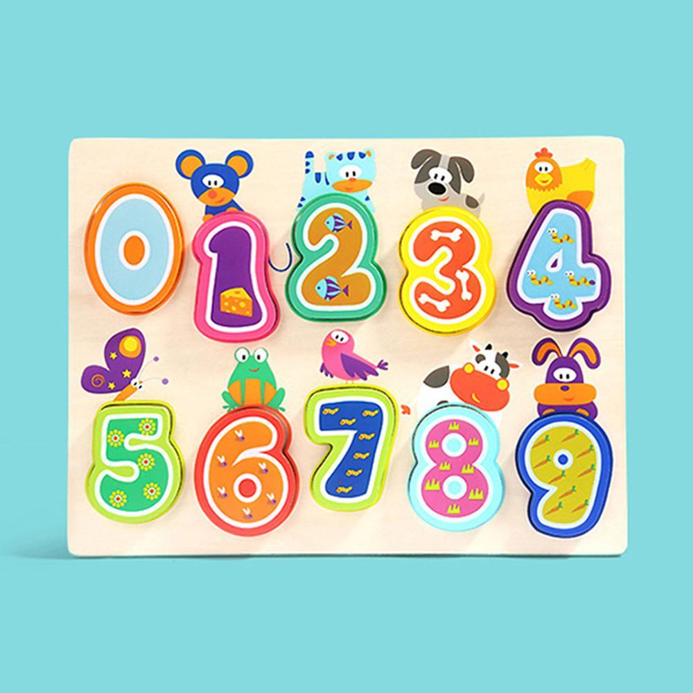 도구 2살 아이 장난감 애니멀숫자 퍼즐 유아 3세 놀이 퍼즐 블록 블럭 장난감 유아블럭