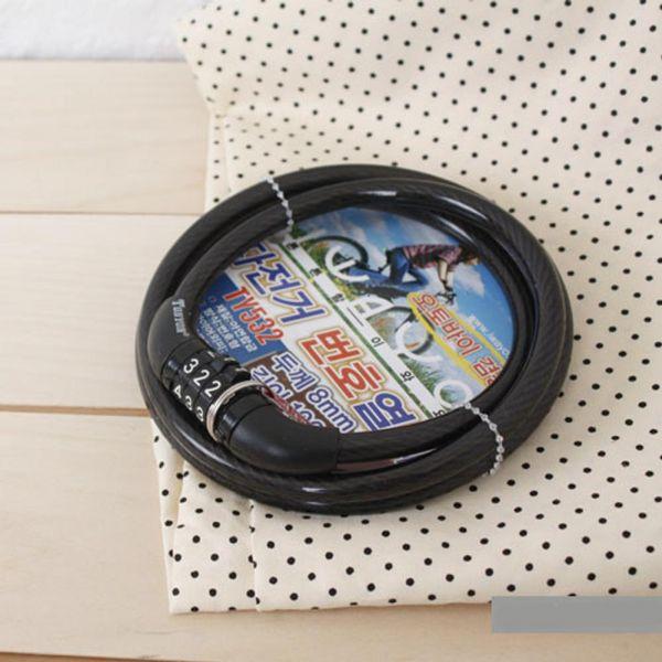 자전거번호열쇠TY532(8x100) 생활용품 잡화 주방용품 생필품 주방잡화