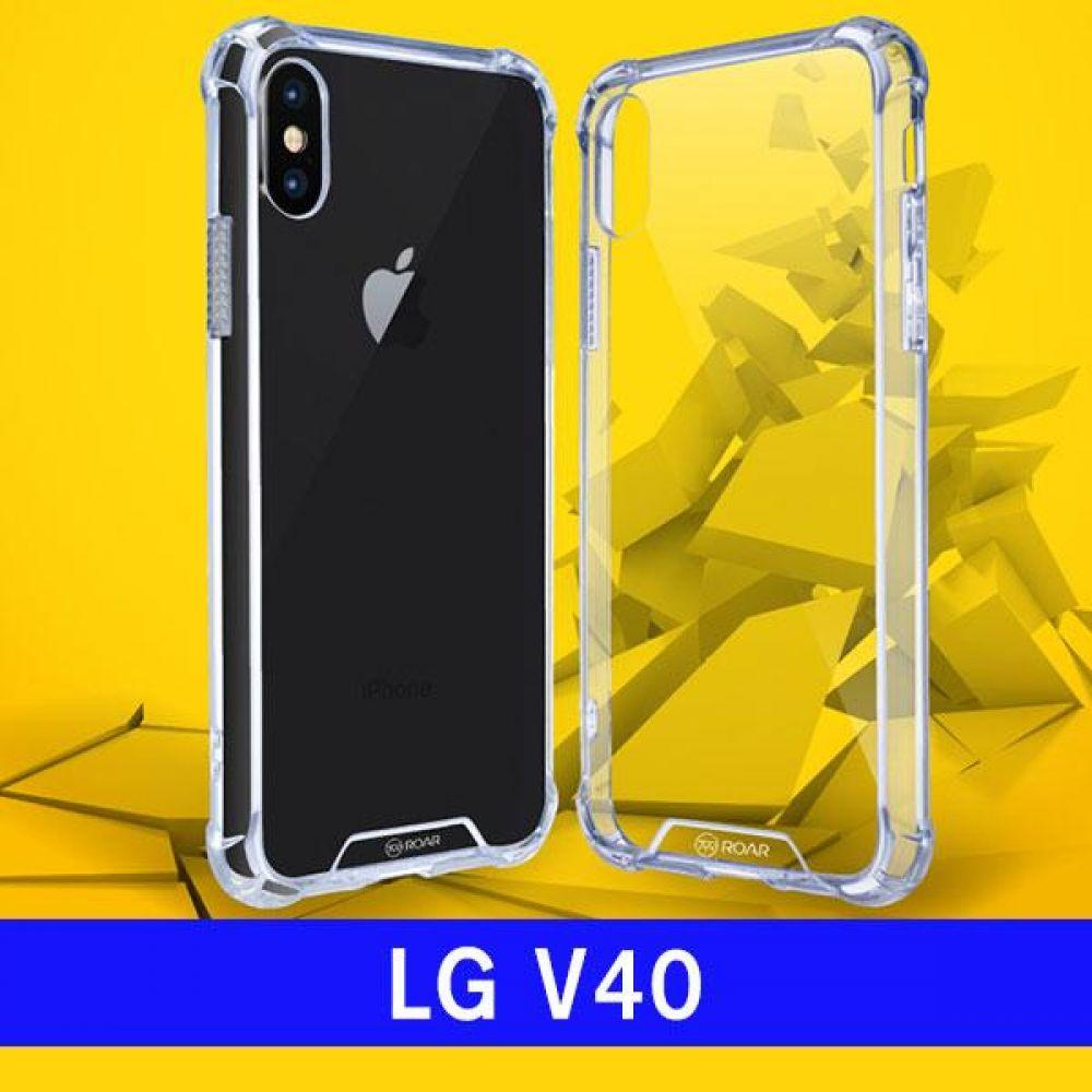 LG V40 로아 라운딩아머 V409 케이스 엘지V40케이스 LGV40케이스 V40케이스 엘지V409케이스 LGV409케이스 V409케이스 하드케이스 범퍼케이스 투명케이스 클리어케이스 핸드폰케이스 휴대폰케이스