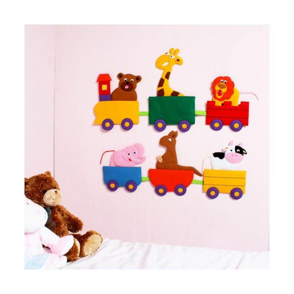 탈부착 토독(대) 동물기차 완구 문구 장난감 어린이 캐릭터 학습 교구 교보재 인형 선물