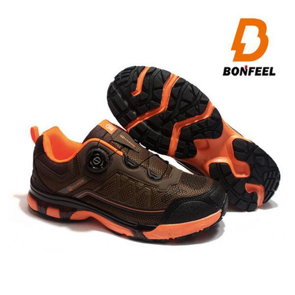 본필 남성 등산화 트레킹화 BFM-3809 브라운 신발