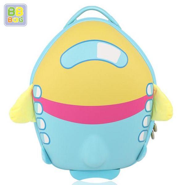 캐리어 비행기 노랑색 비비백 캐릭터가방 윌리엄가방 생일선물 유치원 유아가방 아동가방 백팩 미아방지용 캐리어