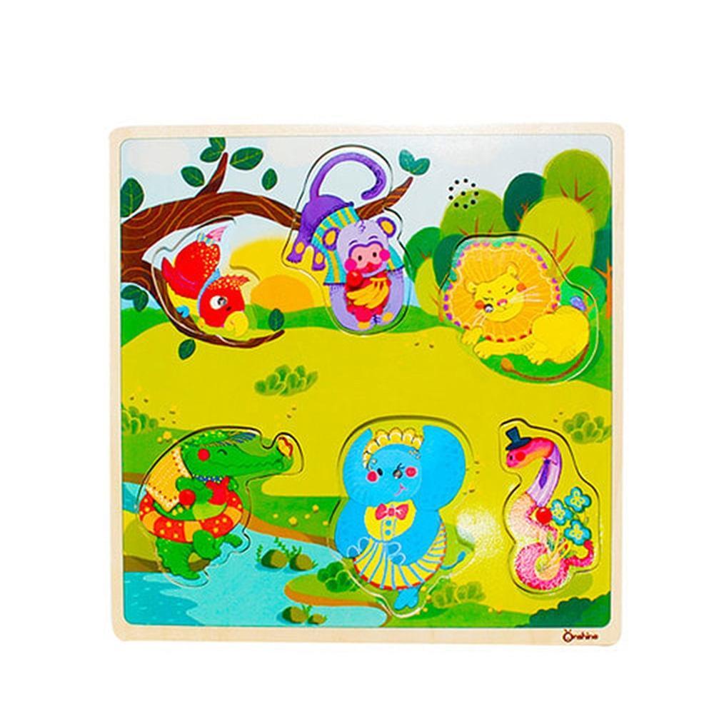 선물 학습 놀이 유아 유아원 사운드 퍼즐 동물 아이 퍼즐 블록 블럭 장난감 유아블럭