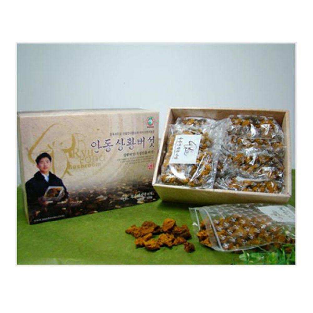 류충현 상황버섯(분쇄품) 500g 건강 식품 버섯 선물 상황