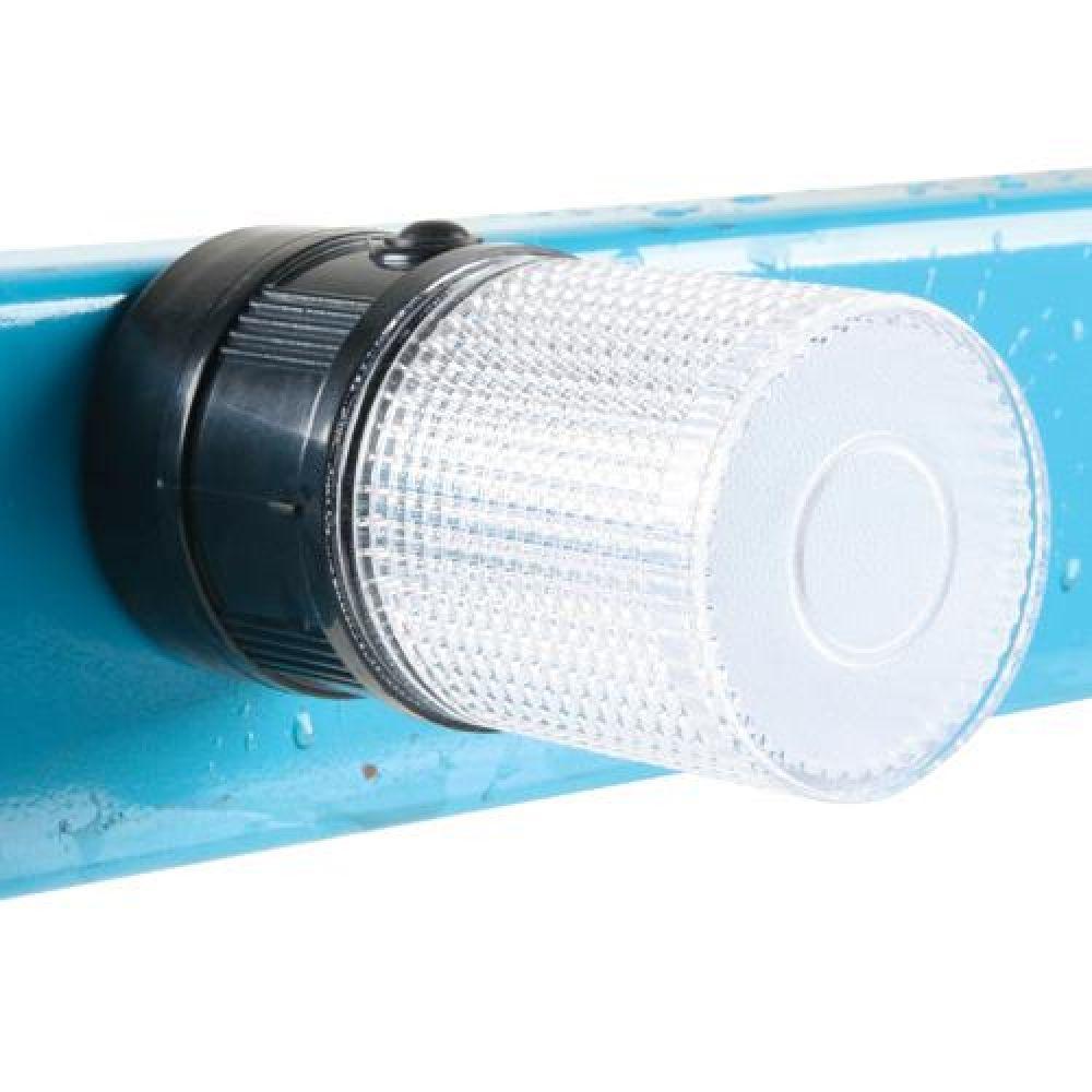 미래안전 경광등 70 x 140MM 자석경광등적 870-2131 미래안전 경광등 미래안전경광등 자석경광등 안전표시 위험 경고등