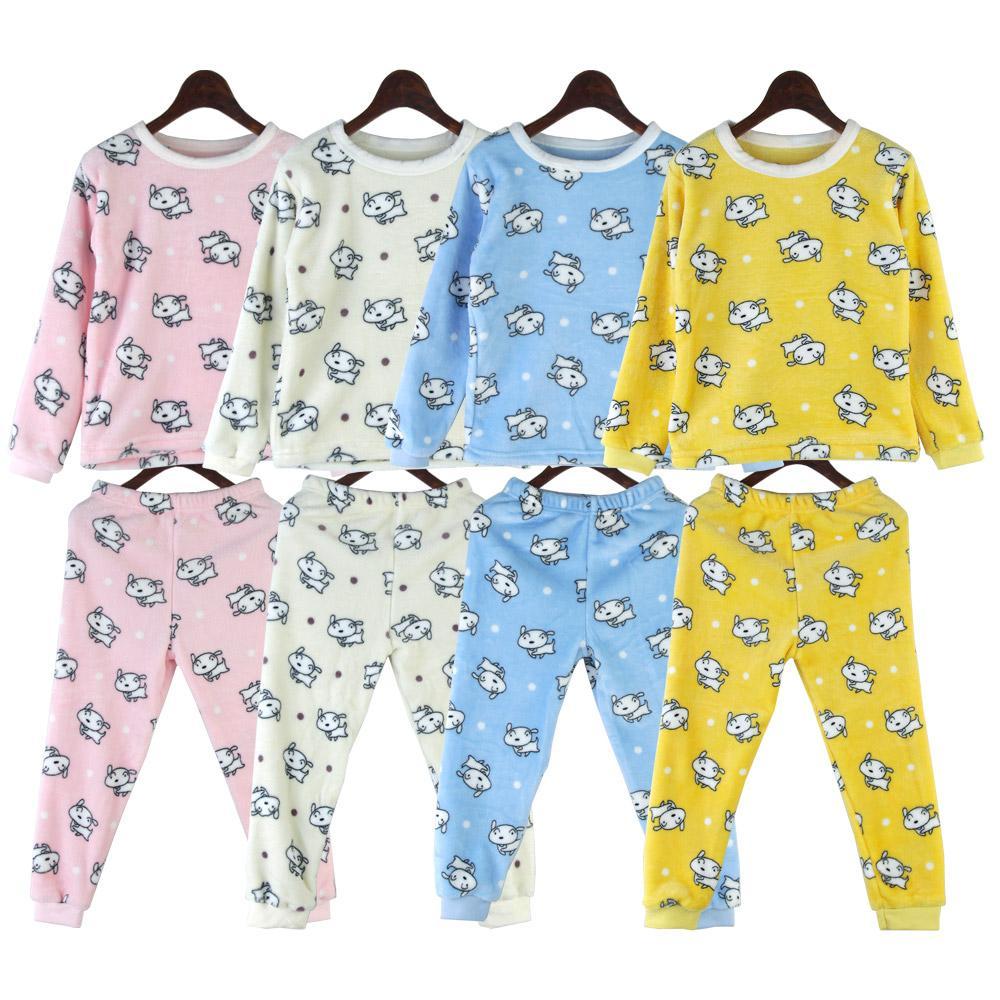 강아지 아동 밍크 수면잠옷세트 SD-191084 아동수면세트 주니어수면잠옷 아동수면잠옷 아동짱구잠옷 어린이잠옷