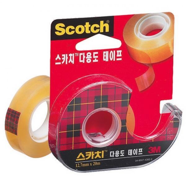 스카치 테이프 523D 12mmX30M 3M 택배 배송 포장 테이프 박스 문구 사무 스카치 점착 접착