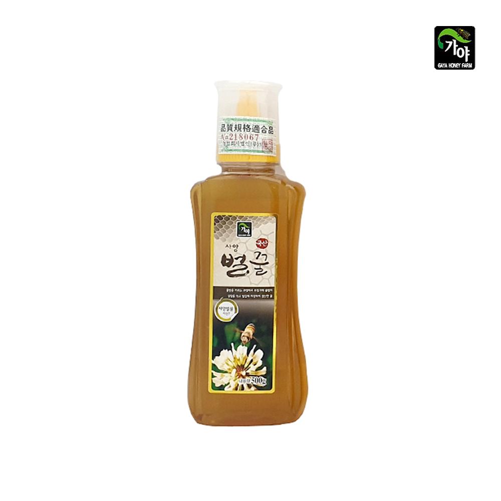 가야 국산 사양 벌꿀 500g/ 튜브형꿀통/ 소용량 사양벌꿀500g 사양벌꿀1kg 사양벌꿀2kg 대용량벌꿀 대용량사양벌꿀