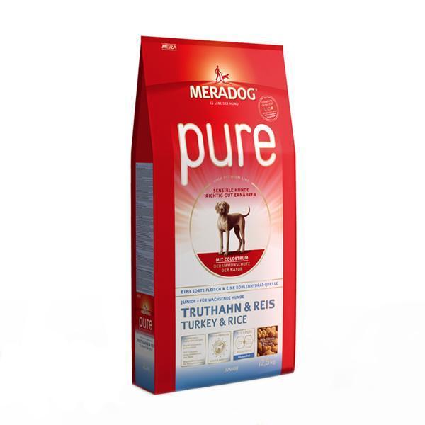 메라독 퓨어 주니어(칠면조n쌀n초유) 12.5kg 애완사료 건강사료 수제사료 애완용품 사료