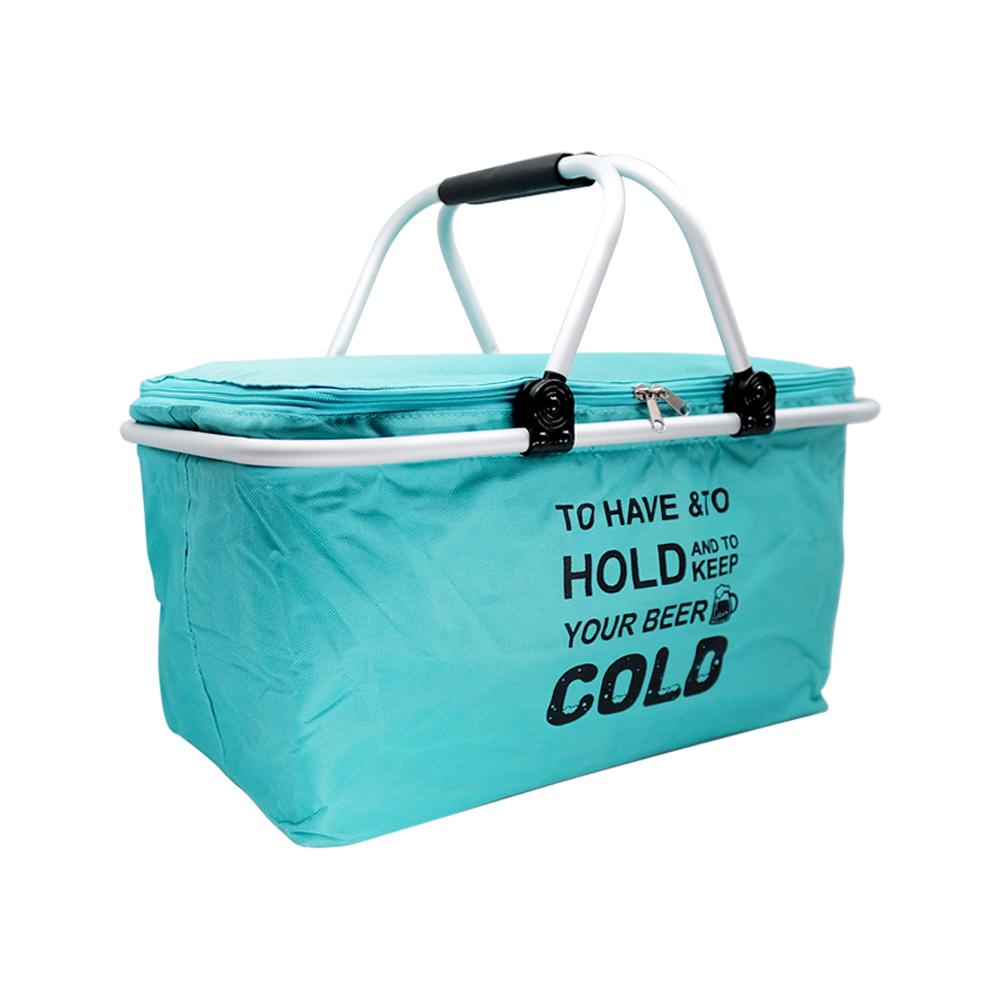 DF 감성캠핑쿨러바구니(32L)보온가방 쿨러백 쿨러가방 보냉백 보온백 캠핑가방 보냉가방 쿨러백