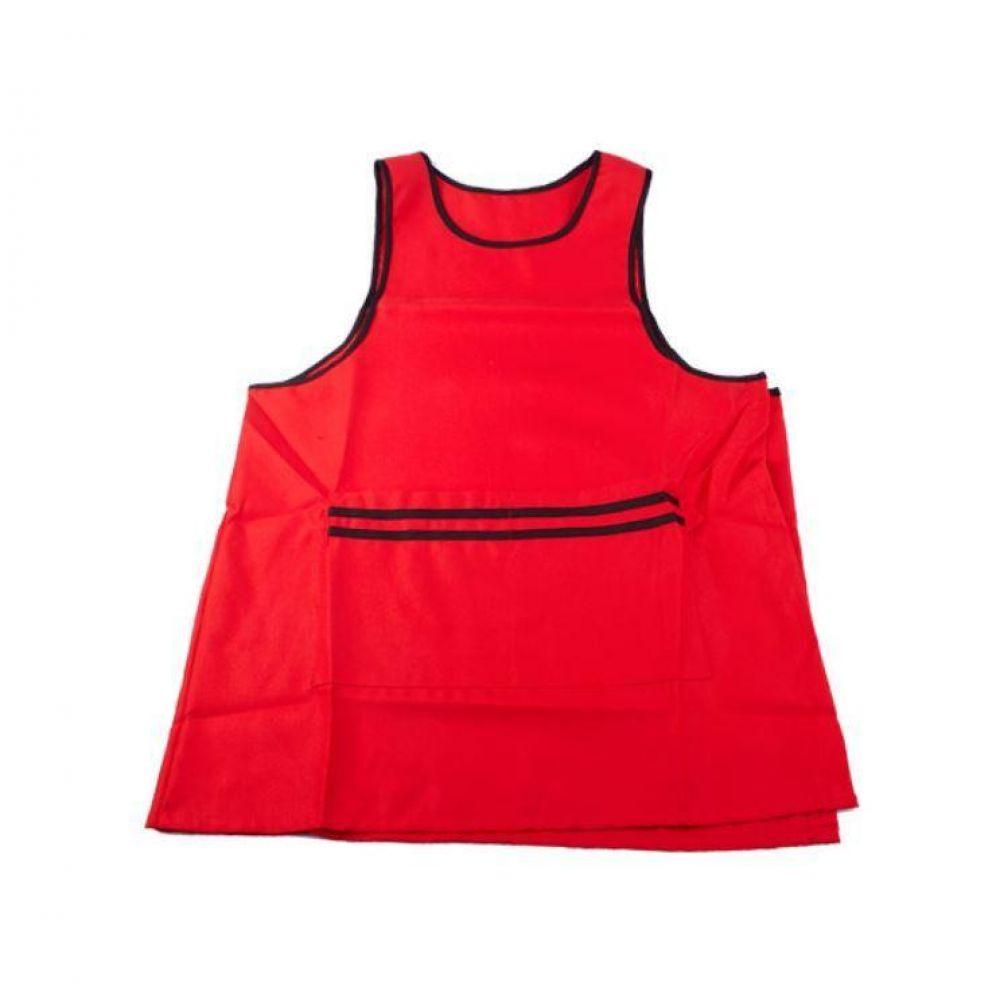 두줄 원피스앞치마(빨간색) 주방 요리 업소용 식당 작업 카페 서빙