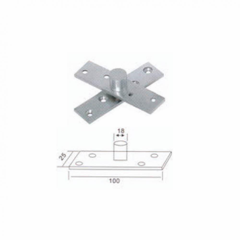UP)스텐피봇힌지-I형(낱개2개) 생활용품 철물 철물잡화 철물용품 생활잡화