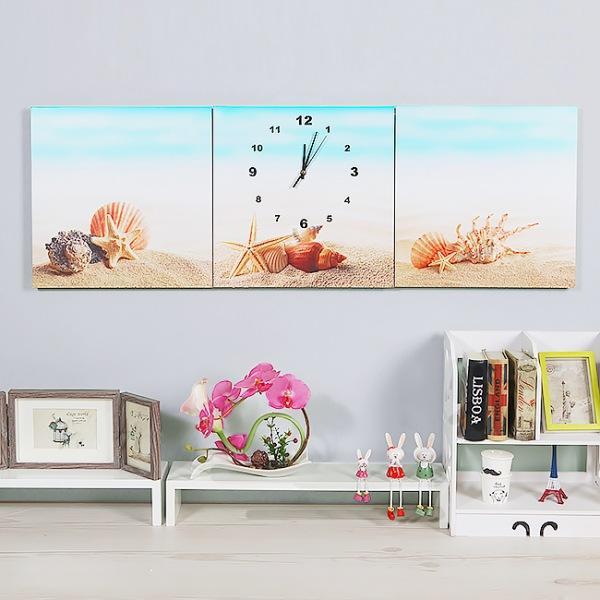JHC컴퍼니 해변 불가사리 병풍 벽시계(120cm) 벽시계 탁상시계 시계 클래식시계 엔틱벽시계