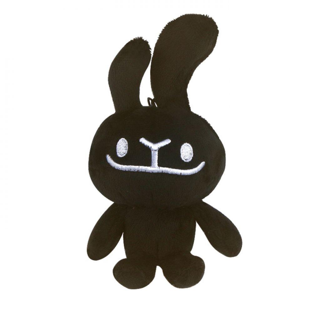 바글바글 하토씨 마스코트인형 13cm_블랙 하토씨 하토씨인형 바글바글하토씨 캐릭터인형 토끼인형 바니인형 인형선물 인형키링 가방고리 봉제인형