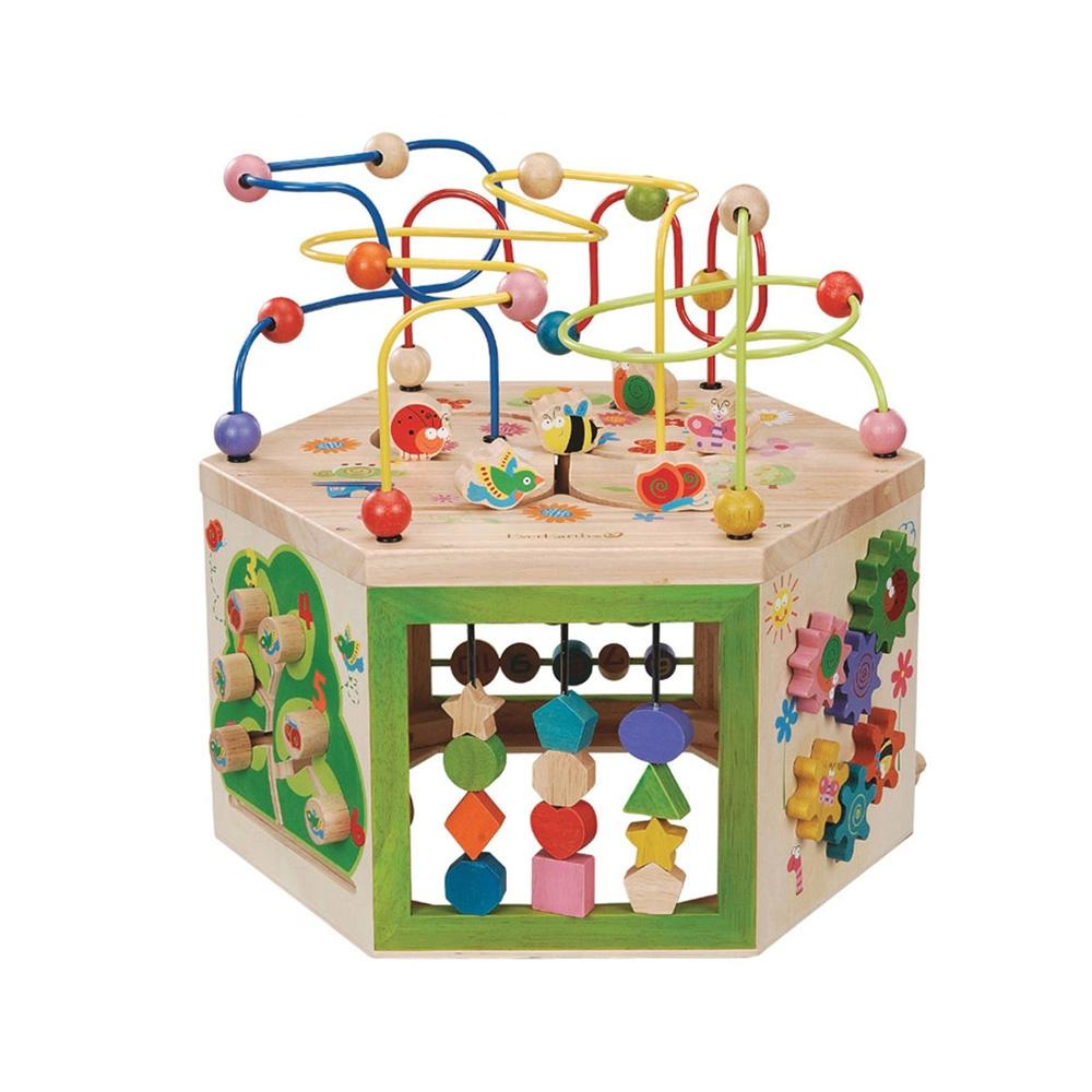 선물 장난감 어린이 교육 놀이 완구 7in1 롤러코스터 유아원 장난감 2살장난감 3살장난감 4살장난감