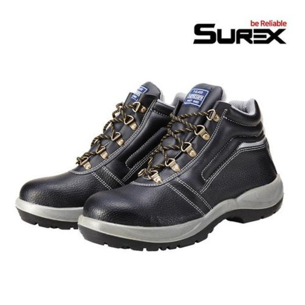 슈렉스 SR-560 5in 경작업용 중단화 안전화 작업화 안전화 SUREX 슈렉스 가죽안전화 작업화 현장화 작업신발