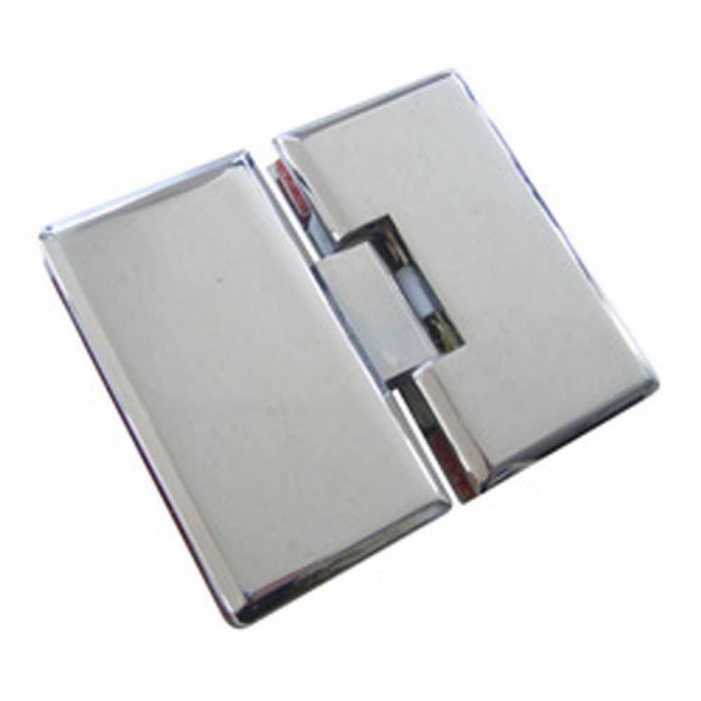 UP)유리문경첩(아연)-180도(8mm용) 생활용품 철물 철물잡화 철물용품 생활잡화