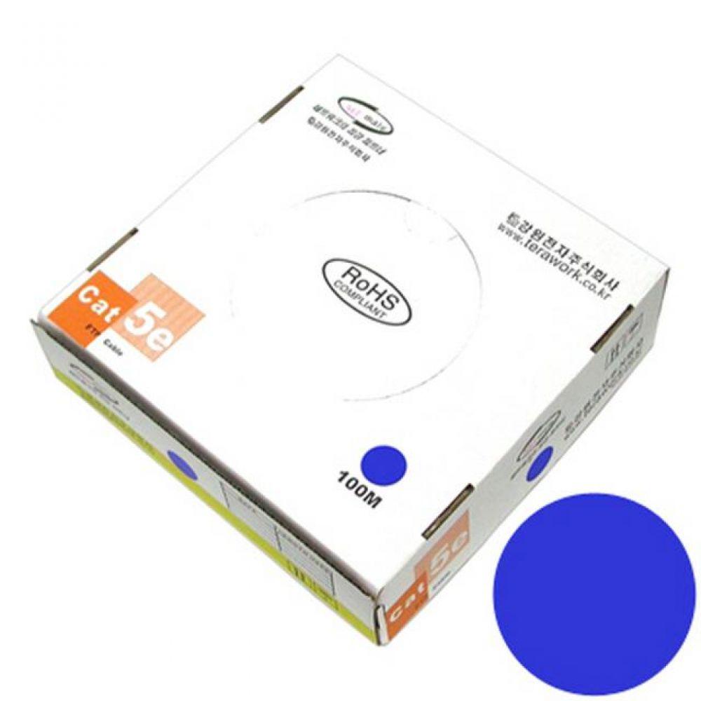 넷메이트 FTP 케이블 CAT.5e Blue 단선 100M 컴퓨터용품 PC용품 컴퓨터악세사리 컴퓨터주변용품 네트워크용품 랜선 인터넷케이블 기가랜선 utp케이블 공유기 hdmi케이블 랜커플러 lan케이블 랜커넥터 평면랜케이블