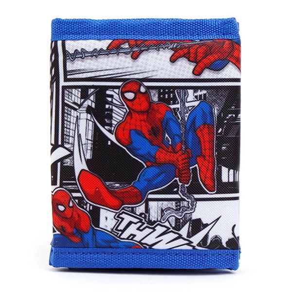 어린이 지갑 MV0128-스파이더맨지갑 블루 XS 어린이지갑 지갑 아동지갑 동전지갑 어벤져스 캐릭터지갑 유아지갑 패션지갑 초등지갑 남자어린이지갑