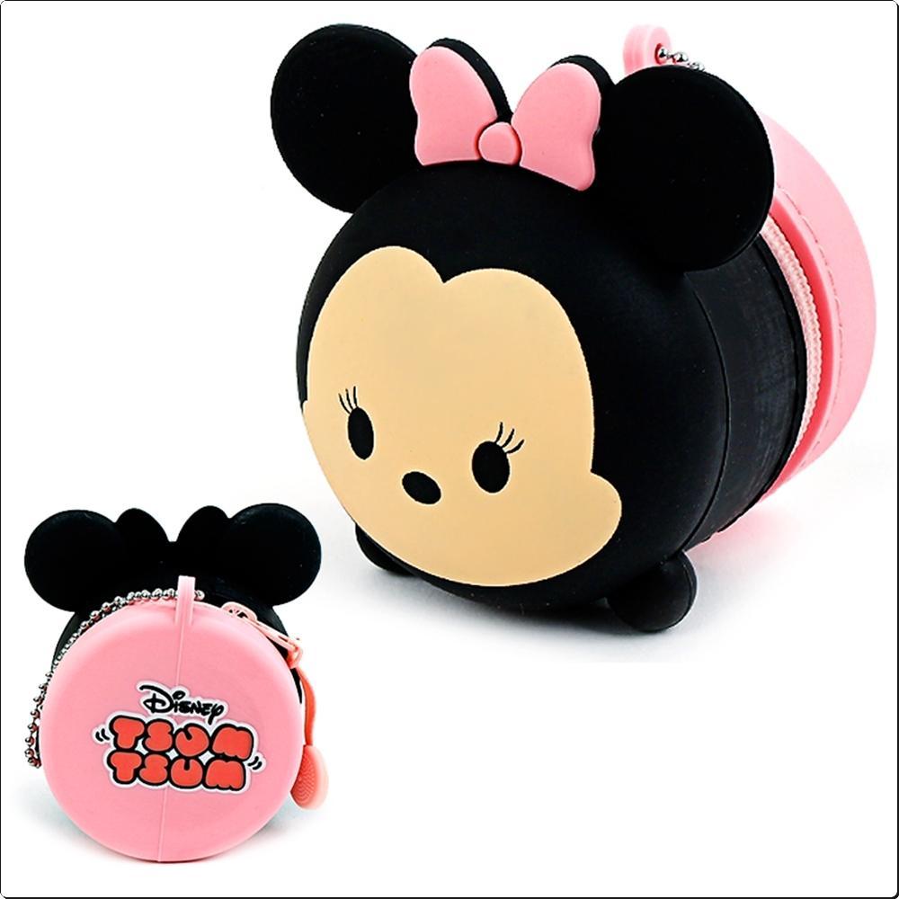 디즈니 미니마우스 실리콘 동전파우치(743843) 캐릭터 캐릭터상품 생활잡화 잡화 유아용품