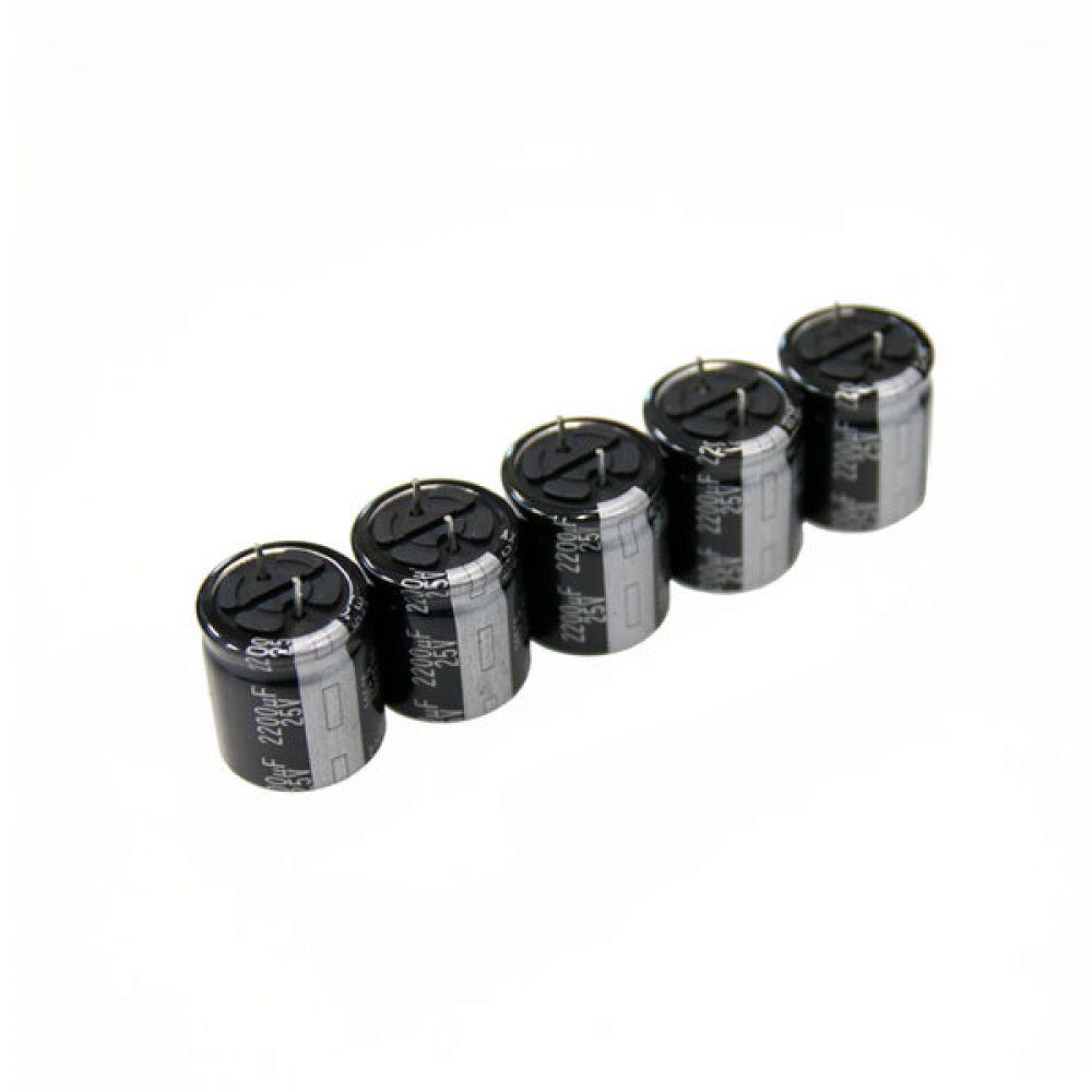 파나소닉 캐패시터 전해 콘덴서 Panasonic 25V 2200uf 5개씩 4묶음 파나소닉콘덴서 알루미늄콘덴서 오디오 캐패시터 오디오콘덴서 전해콘덴서 빈티지