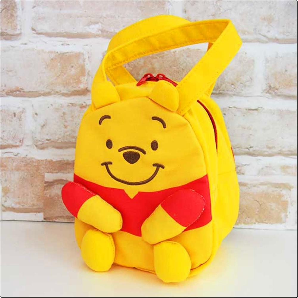 곰돌이푸우 스웨이드 보냉 토트 입체백 (일)(374388) 캐릭터 캐릭터상품 생활잡화 잡화 유아용품